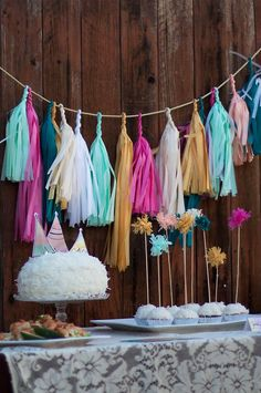 Universe of goods - Buy Tissue Paper Tassels Garland For Wedding Decoration Diy Hanging Birthday Party Baby Shower Event Party Supplies for only USD. Diy Tassel Garland, Tassels, Garland Ideas, Garland Decoration, Backdrop Decorations, Décoration Garden Party, Garden Parties, Summer Garden, Lila Party