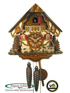 Black Forest Cuckoo Clocks | Details about Black Forest Cuckoo Clock 1-Day Timberframe Chalet NEW
