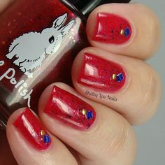 Shelby Lou Nails - Hump Day Hare - Hare Polish - I'm Your National Anthem - (No flash)