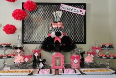 www.theperfecttablecapecod.com Sweet Sixteen Candy Buffet