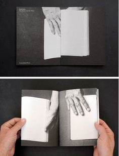 One Hand, and the Other, a book by Emil Salto, published by Cornerkiosk press. Graphic Design Books, Book Design Layout, Aperture Photo, Ed Design, Type Treatments, Book Projects, Conceptual Art, Book Making, Editorial Design