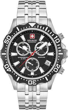 Swiss Military Hanowa Patrol Chrono 44 mm 06-5305.04.007 Horloge d4cd37ff17