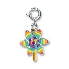 Charmit Rainbow Pinwheel - $5.00