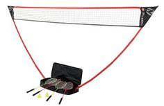 Zume Games Portable Badminton Set Best Badminton Racket, Champion Sports, Handmade Leather Wallet, Rackets, Quality Time, Best Games, Home Depot, Top