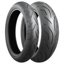 PAIR 120/70ZR17 58W TL F & 190/55ZR17 (75W) TL Bridgestone S20 R EVO