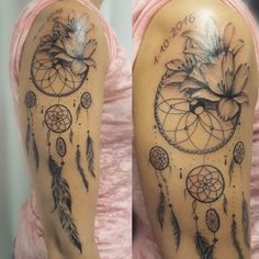Dreamcather girls tattoo by moma