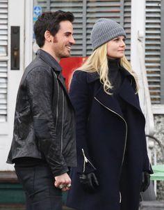 Jennifer Morrison and Colin O'Donoghue - Behind the scenes - 11 December 2014 - 4 * 14