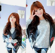 #ulzzang #korean Cuuuuuuuuuuuuuuute!!! Ulzzang, Ulzzang girl, girl, Cute, Korean, kfashion, pretty, fashion ^^