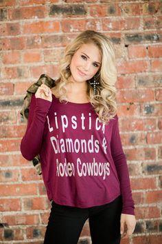 Lipstick Diamond & Rodeo Cowboys