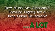 How Much Are Alabama's Families Paying for a Free Public Education? A Lot