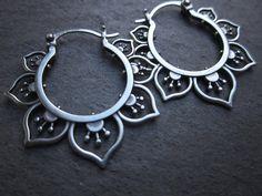 handmade sterling silver earrings at SBJewelry.etsy.com