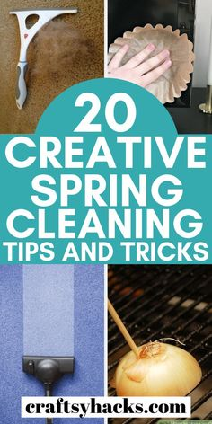 These creative spring cleaning tips and tricks are worth trying if you don't have a lot of time on your hands. These cleaning hacks are efficient and practical. hacks tips and tricks 20 Amazing Spring Cleaning Tips Your House Needs - Craftsy Hacks Cleaning Agent, Household Cleaning Tips, House Cleaning Tips, Deep Cleaning, Cleaning Hacks, Cleaning Lists, Cleaning Schedules, Weekly Cleaning, Kitchen Cleaning