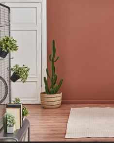 Zoom on . the terracotta color Dark pink and powdery for some, ocher yellow or rust orange for others . The terracotta color is available in many sha. Bedroom Colors, Bedroom Decor, Color Terracota, Style Deco, Interior Decorating, Interior Design, Natural Home Decor, Home And Living, Living Room