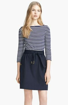 Burberry Brit 'Jodie' Belted Dress available at #Nordstrom