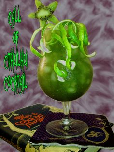 From http://cocktailvultures.wordpress.com/2012/06/19/the-call-of-cthulhu-cocktail/#, Call of Cthulhu drink.