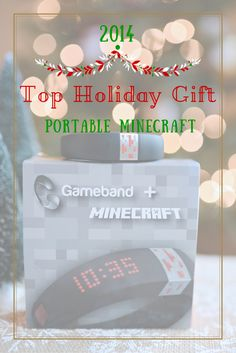 Portable Minecraft by @gameband  | Top Holiday Gift #ad #GameOnTheGo