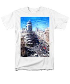 Men's T-Shirt (Regular Fit) - Madrid - La Gran Via