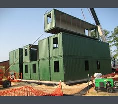TexnoWorship: Cool Shipping Container Homes and Buildings