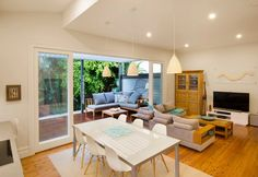 Manly House   Upper Floor Addition - Beach Style - Dining Room - Sydney - by Michelle Walker architects