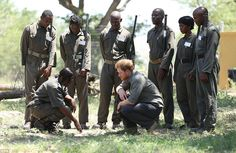 Later today, Harry will leave for Johannesburg for the last leg of his African visit. Talk...