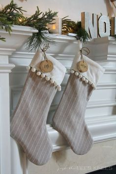 33 beautiful christmas stockings worth hanging - Unique Christmas Stockings