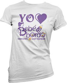 YO 💜 BEBE A BORDO  #pontelacamiseta