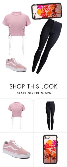 """""""Untitled #31"""" by kacis-kacis on Polyvore featuring WithChic, Vans and Casetify"""