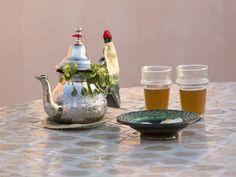 Photo Riad Marrakech, Tea Pots, Tableware, Wayfarer, Food, Peppermint Tea, Dinnerware, Dishes, Tea Pot