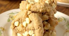 Soft baked with a chewy centre and creamy flavour, these one bowl cookies are packed full of white chocolate chips and coconut.     I swea...