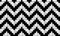 "Best 12 Today I have a crochet pattern inspired by ""Twin Peaks"" series for you. You can use it to make a number of rectangular things. I designed it specifically to make a new cover for my eboo… Tapestry Crochet Patterns, Weaving Patterns, Mosaic Patterns, Stitch Patterns, Filet Crochet Charts, Knitting Charts, Crochet Stitches, Knitting Patterns, Crochet Curtains"