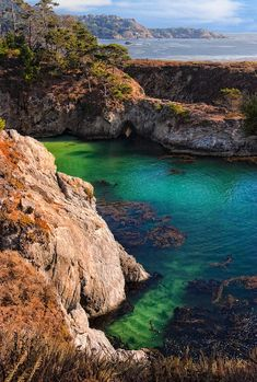 Point Lobos State Reserve, near Carmel, California; photo by Utah Images