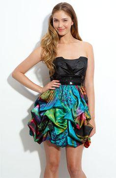 Nordstrom Speechless Printed Skirt Dress (Juniors)
