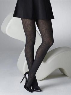 9569a0885 Gipsy Italian Lace Tights in Black One size Nylon