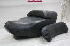 Piaggio Hexagon Sitzbank mit Rückenlehne
