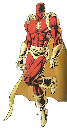The Scarab, from Freedom City for Mutants and Masterminds Comic Book Guy, Comic Book Superheroes, Superhero Characters, Comic Book Characters, Comic Character, Character Concept, Comic Books, Marvel Dc, Super Hero Games