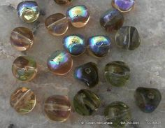 REDUCED  Iridescent Light Topaz 9mm Twisted by CedarCreekCanada