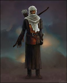 Conceptual Art desert warriors | Bedouin warrior conceptArt by Grungefm on deviantART