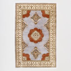 One of my favorite discoveries at WorldMarket.com: Floating Medallion Tufted Rug