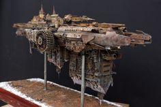 Space Steampunk Model.
