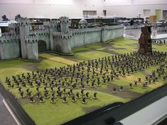 Minas Tirith Wall - Lord of the Rings | Flickr - Photo Sharing!