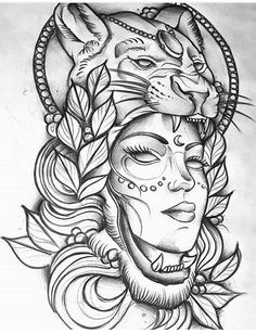 26 ideas neo traditional nature tattoo wolves for 2019 Leo Lion Tattoos, Wolf Tattoos, Girl Tattoos, Indian Tattoo Design, Clock Tattoo Design, Tattoo Designs, Tattoo Sketches, Tattoo Drawings, Body Art Tattoos