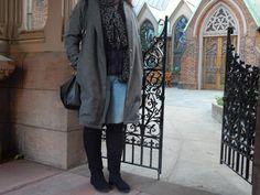 Mon manteau oversize d'hiver #couture #sewing #manteau