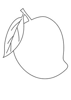 Apple Coloring Pages, Blank Coloring Pages, Animal Coloring Pages, Coloring Books, Art Drawings For Kids, Drawing For Kids, Painting For Kids, Easy Drawings, Hand Embroidery Designs