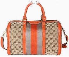 368ead90176 Gucci Boston Eye-catching Gucci Boston Bag 247205 Orange  153. Gucci  Handbags Outlet For Designer Handbags Cheap