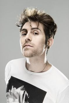 Davey Havok  singer- AFI & Blaqk Audio...He is a good example of the older you get, the SEXIER you get!