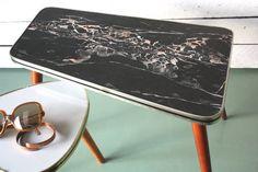 Plant stand small coffee table flower stool  von wohnraumformer