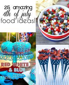 25+ July 4th Food Ideas! | Creme De La Crumb