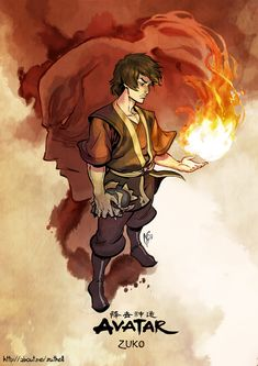 Finished Zuko! One of my favourites from the whole show :) Another one of my Avatar collection!