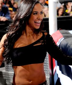 I love AJ LEE A LOT and she's a great person and she deserves the championship so don't call her a slut if she needs someone to be with to talk to