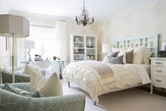 Designer: Samantha Pynn Loved making over this teens bedroom (she is her 20s now) He loved neutrals and her mom loved colour